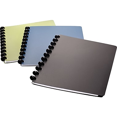M by Staples™ Arc Customizable Poly Notebook, 60 Page, 120 Sheets, 8-1/2