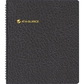 "2014 AT-A-GLANCE® Monthly Planner, 9"" x 11"", Black"