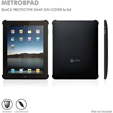 Macally Snap Cover for iPad1, Black