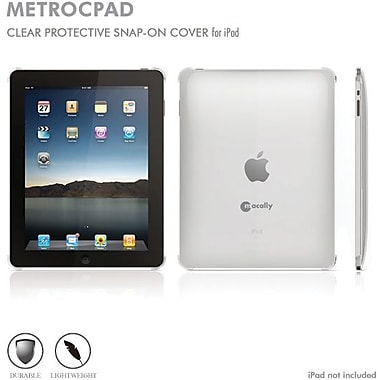 Macally Snap Cover for iPad1, Clear