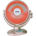 OPTIMUS H-4438 14in. Oscillating Dish Heater with Remote