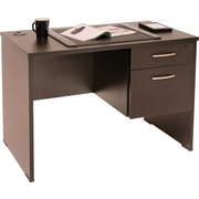 Regency® Sandia Complete Office Solution, Teacher's Desk, Mocha Walnut