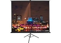Elite Screens Tripod Series 85' Diagonal 1:1 Aspect Tripod Projector Screen (Black)
