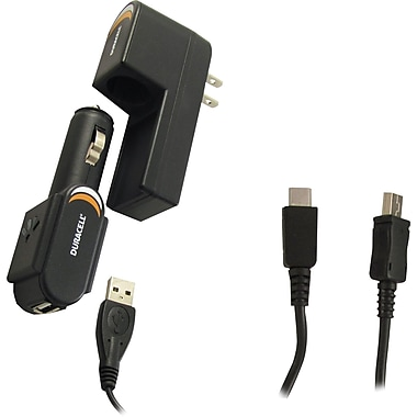 Duracell 3 in 1 Charger for BlackBerry® Smartphones