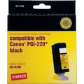 Staples® Remanufactured Black Ink Cartridge Compatible with Canon PGI-220