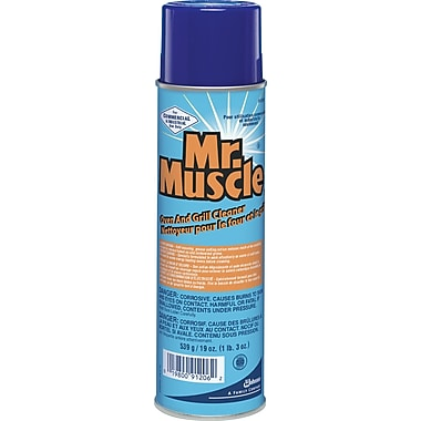 Mr. Muscle® Oven and Grill Cleaner, 19 oz., 6/Ct
