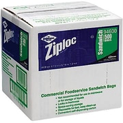 Ziploc® Resealable Sandwich Bags, 500/Box