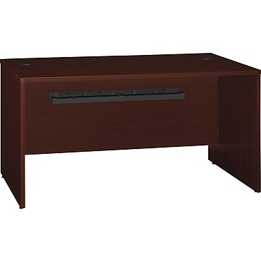 Bush Quantum 60in.W Desk, Harvest Cherry