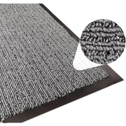 Apache Mills Step 2 Foyer Mat, Brush & Clean, Charcoal, 3' x 5'