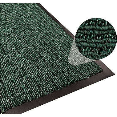 Apache Mills 3-Part Entrance System Floormats, Hunter Green