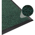 Apache Mills Step 2 Foyer Mat, Brush & Clean, Hunter Green, 2' x 3'