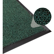 Apache Mills Step 2 Foyer Mat, Brush & Clean, Hunter Green, 4' x 6'