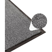Apache Mills Step 3 Indoor Mat, Clean Loop, Charcoal, 4' x 6'