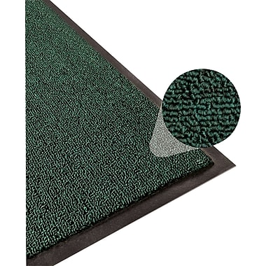 Apache Mills Step 3 Indoor Mat, Clean Loop, Hunter Green, 4' x 6'