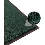 Apache Mills Step 3 Indoor Mat, Clean Loop, Hunter Green, 2' x 3'