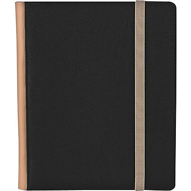M-Edge Trip Case for iPad 1, Black with Tan