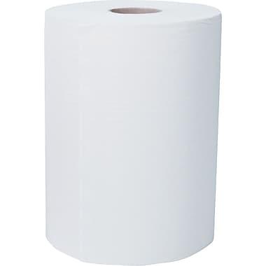 Scott® Slimroll™ Hardwound Towels, White, 2-Ply, 6 Rolls/Case
