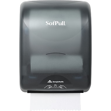 SofPull® Mechanical Hardwound Roll Towel Dispenser, Smoke