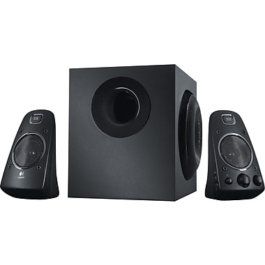 Logitech Z623 200W THX-Certified Speakers for Multiple Devices, Black (980-000402)