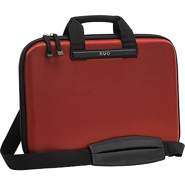 Nuo™ Slim Laptop Brief, Red, 15.6in.