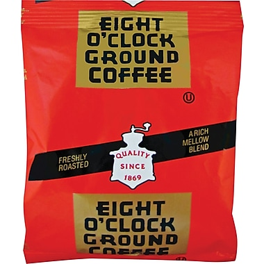 Eight O'Clock Original Roast Ground Coffee, Regular, 1.5 oz., 42 Filter Packets