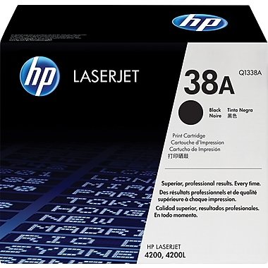 HP 38A (Q1338A) Black Original LaserJet Toner Cartridge
