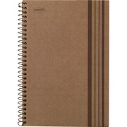 Sustainable Earth by Staples® Wirebound Notebook, 1 Subject, 8-1/2 x 11