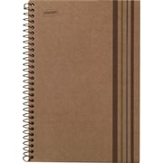"Staples Sustainable Earth 1-Subject Wirebound Notebook, Brown, 8-1/2"" x 11"", Each (16770)"