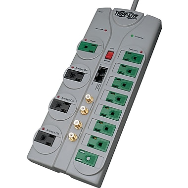 Tripp Lite 12-Outlet 3600 Joule Eco Home/Business Theater Surge Protector