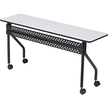 Iceberg OfficeWorks Mobile Training Table 60x18, Gray