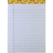 Staples Wide Rule Fashion Writing Pads