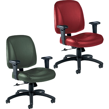 Global® Italia Custom Leather Office Chairs