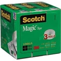 Scotch® Magic™ Tape 810, 3/4in. x 800 yds, 3/Pack