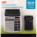 Staples® SPL-230110 8-Digit Display Calculator, Value Pack