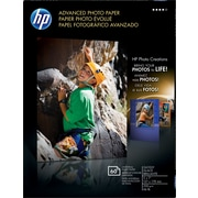 HP Advanced Photo Paper, 5 x 7, Glossy, 60/Pack