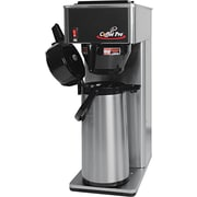 Coffee Pro 2.2 Liter Air Pot Brewer, Stainless Steel