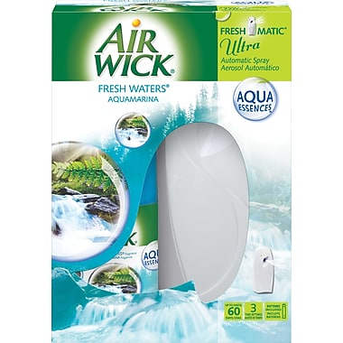 Air Wick® Freshmatic® Ultra Air Freshener Starter Kit, Fresh Waters® Scent