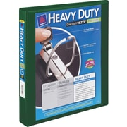 "1-1/2"" Avery® Heavy-Duty View Binder with One Touch™ EZD® Rings, Green"