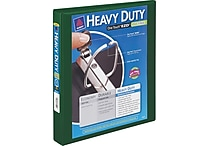 1-1/2' Avery® Heavy-Duty View Binder with One Touch™ EZD® Rings, Green