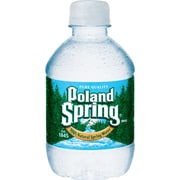 Poland Spring Bottled Water, 8 oz. Bottles, 48/Case