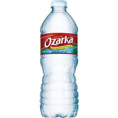 Ozarka Bottled Spring Water, 16.9 oz. Bottles, 24/Case