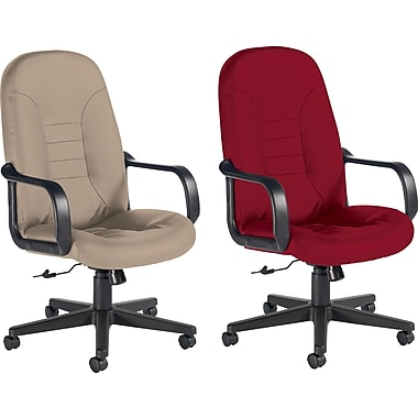 Global® Custom Leather Manager's Chair