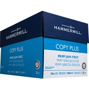 HammerMill® Copy Plus Copy Paper, 8 1/2' x 11', Case
