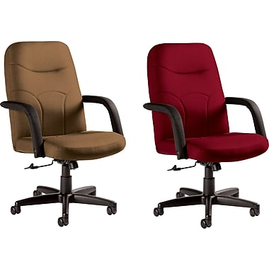 Staples® Fuller Custom Leather Manager's Chairs