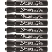 Sharpie® Flip Chart™ Markers, Black, 8/Pack