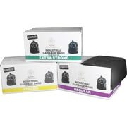 Staples Garbage Bags, Black, Strong