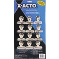X-ACTO® Bulldog® Magnetic Clips, #2, 2 1/4in. Wide, 1/2in. Capacity, SR, 12/Pk