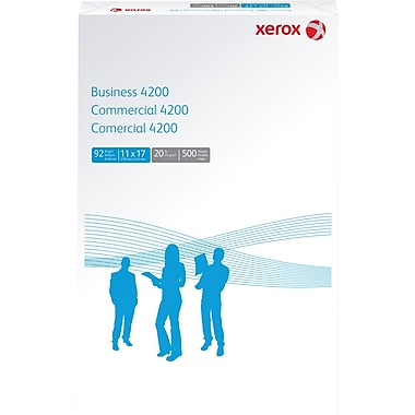 Xerox® Business 4200 Copy Paper, 11in. x 17in., Case
