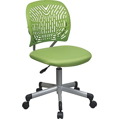 Office Star™ SpaceFlex w/ Mesh Seat Task Chair, Green