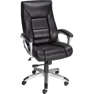 Staples® Karston™ Bonded Leather Managers Mid-Back Chair